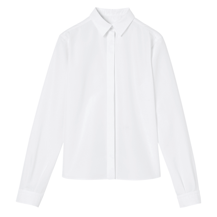 Spring-Summer 2021 Collection Shirt, White