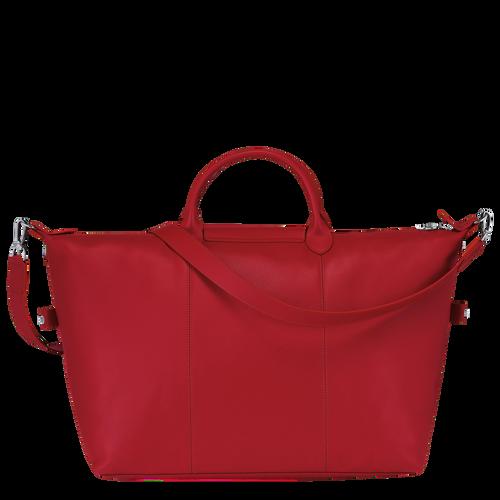 Le Foulonné Travel bag L, Red