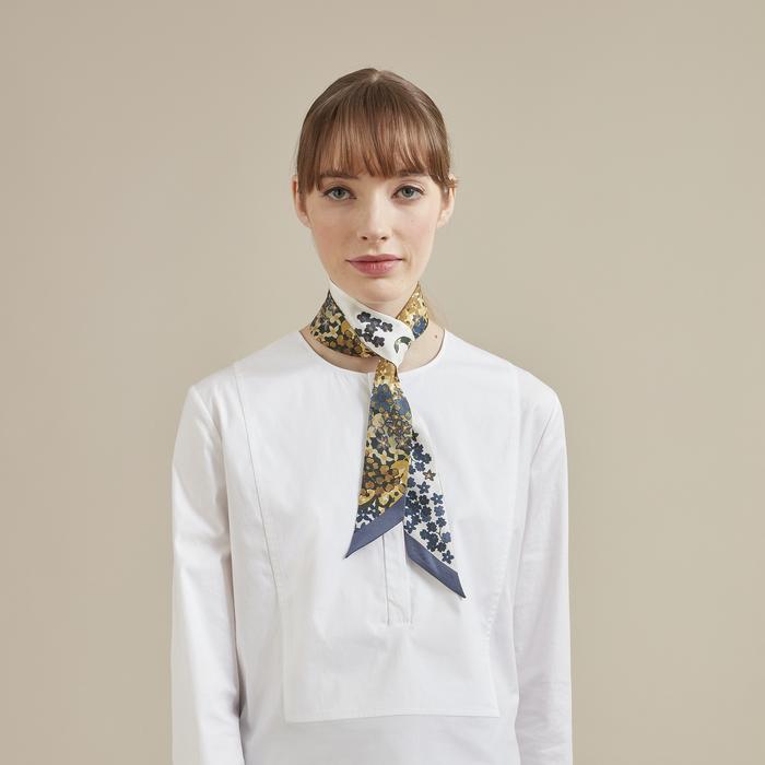 Fall-Winter 2021 Collection Silk ribbon, Orange