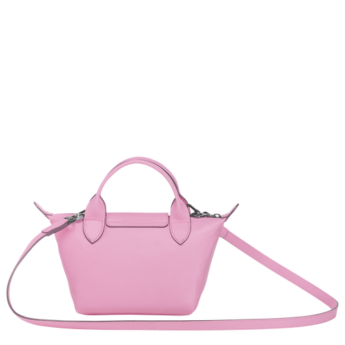 Mini top-handle bag, Pink, hi-res - View 3 of 3