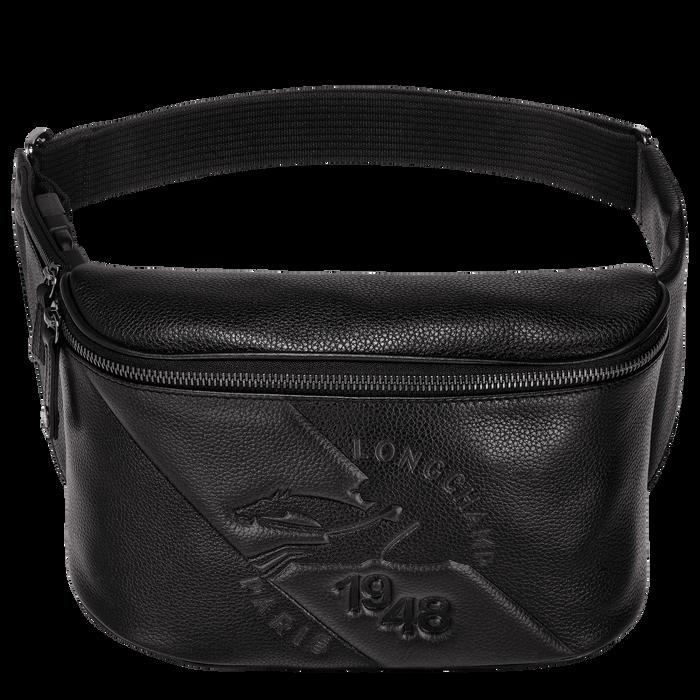 Le Foulonné Belt bag, Black