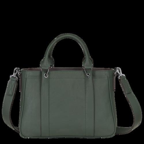 탑 핸들백 S, Longchamp Green - 3 이미지 보기 3 -