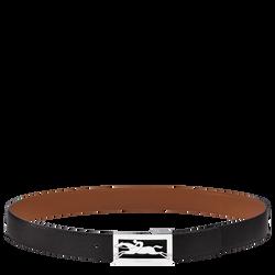 Men's belt, 577 Black/Cognac, hi-res
