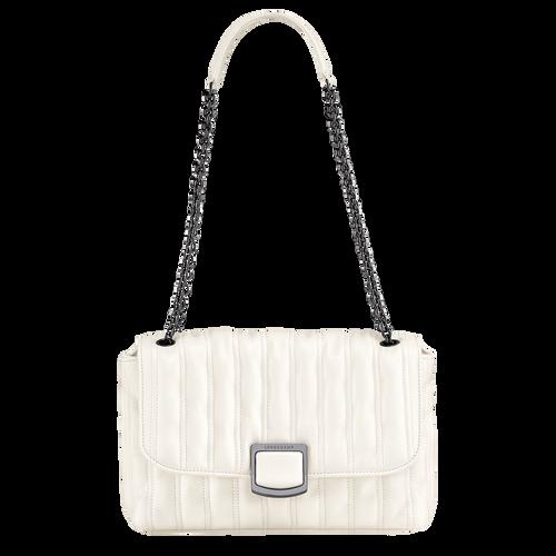 Crossbody bag M Brioche Ivory (10131HVV238) | Longchamp US