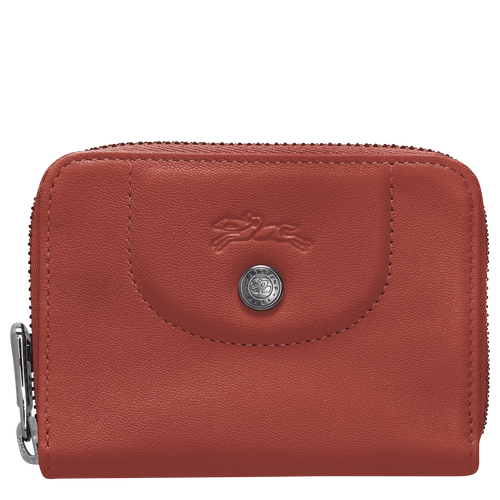 Zipped card holder, Sienna - View 1 of  2 -