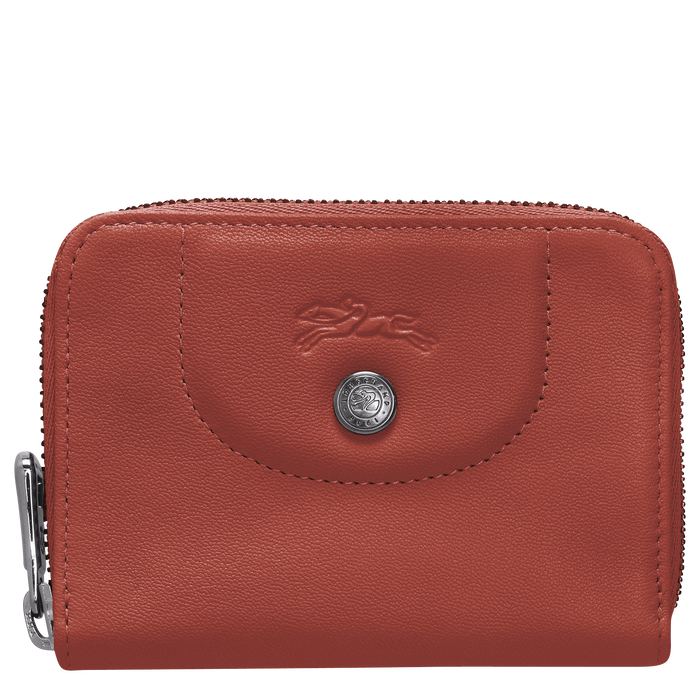 Zipped card holder, Sienna - View 1 of  2 - zoom in