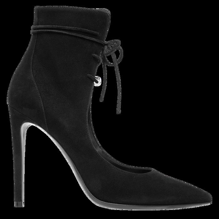 Sandales à talon, Noir/Ebène - Vue 1 de 2 - agrandir le zoom