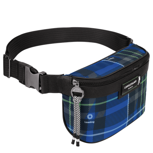 Belt bag, Blue, hi-res - View 2 of 2