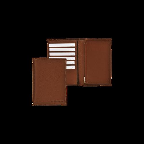 View 1 of Small wallet, 504 Cognac, hi-res
