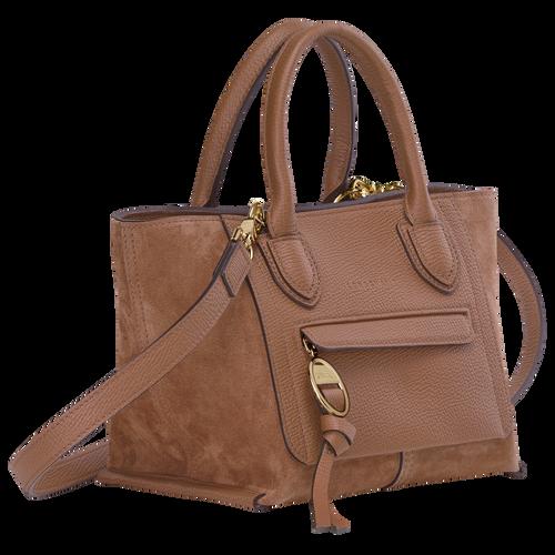 Top handle bag S, Cognac - View 2 of  4 -