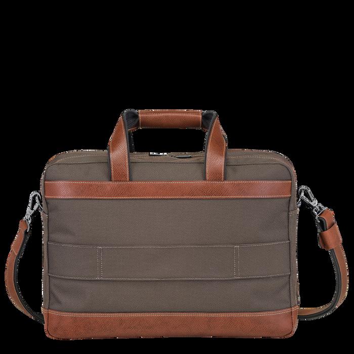 Briefcase L, Brown, hi-res - View 3 of 3