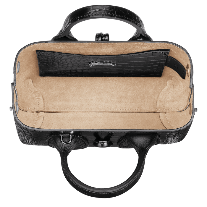 Roseau Top handle bag XS, Black