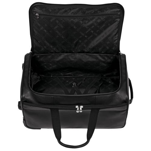 Wheeled travel bag, 047 Black, hi-res