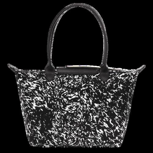 View 3 of Tote bag S, 067 Black/White, hi-res