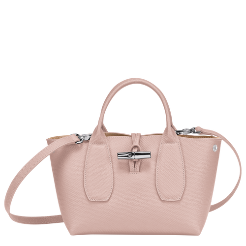 Roseau Top handle bag S, Powder