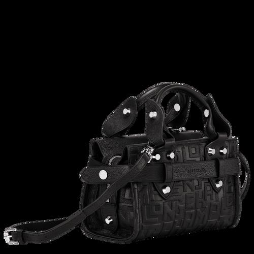 Tas met handgreep aan de bovenkant S, Zwart - Weergave 2 van  3 -