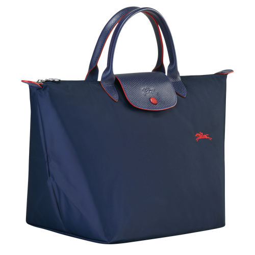 Top handle bag M, Navy - View 2 of  5 -