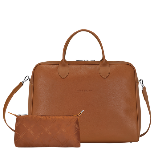 Briefcase L, Caramel - View 4 of  4 -