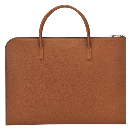 Briefcase S, Caramel - View 3 of 3 -