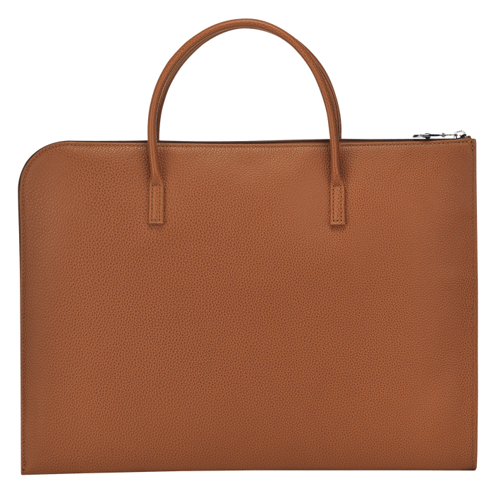 Briefcase S, Caramel - View 3 of 3 - zoom in