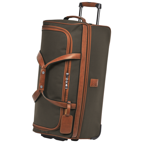 Wheeled travel bag M, 042 Brown, hi-res