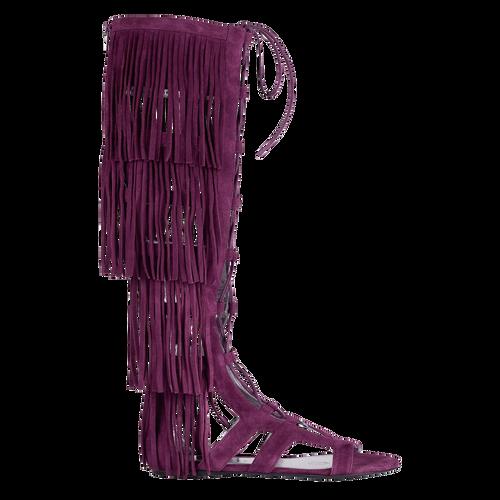 Flat sandals, 527 Violet, hi-res