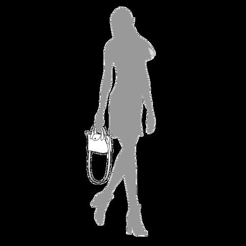 Tas met handgreep aan de bovenkant XS, Honing - Weergave 5 van  6 -