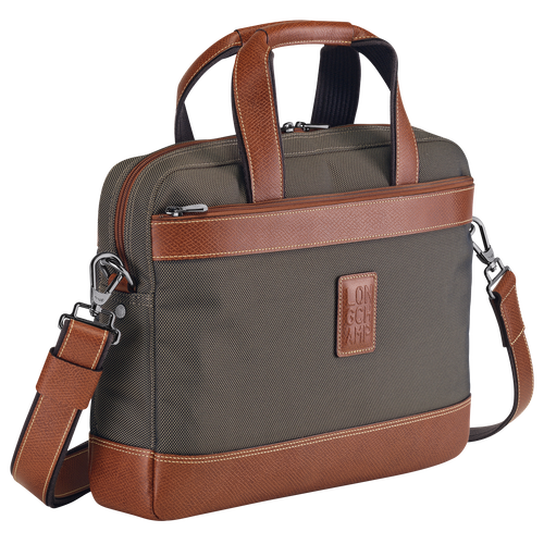 Briefcase S, Brown - View 2 of  3 -