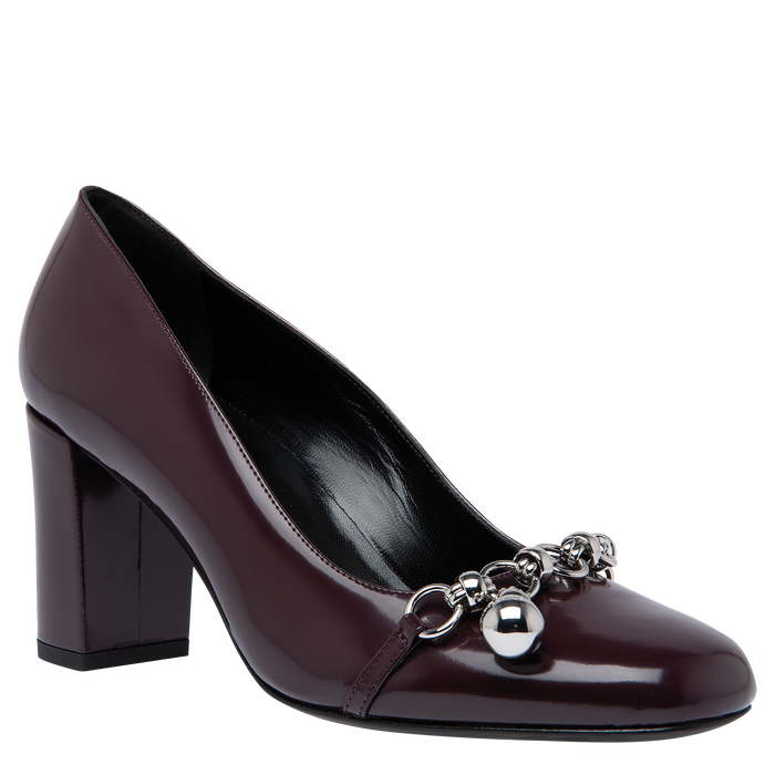 Pumps, Aubergine - View 2 of  2 - zoom in