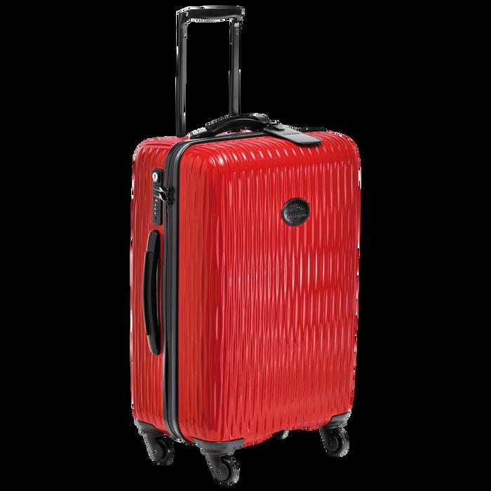 Koffer, Rood - Weergave 2 van  3 - Meer inzoomen.