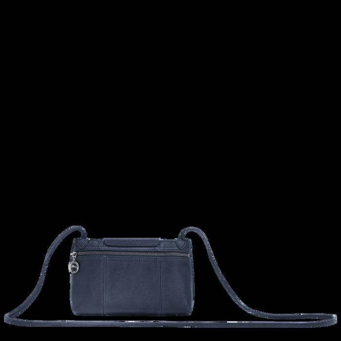 Le Pliage Cuir Crossbody bag, Navy