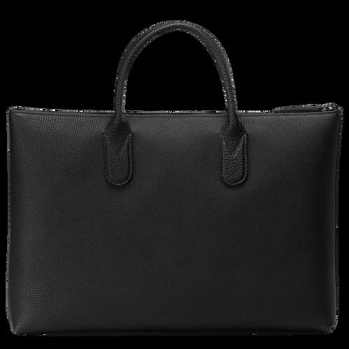 Briefcase S, Black/Ebony - View 3 of  3 -
