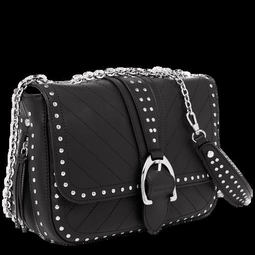 Hobo bag S, Black, hi-res - View 2 of 3