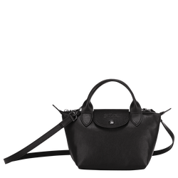 Top handle bag XS, Black/Ebony