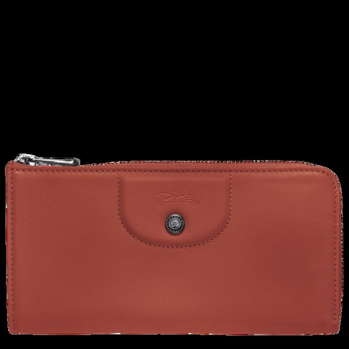 Long zip around wallet, Sienna, hi-res - View 1 of 2