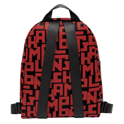 View 3 of Backpack S, C09 Black/Brick, hi-res