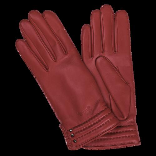 View 2 of Women's gloves, 608 Vermilion, hi-res