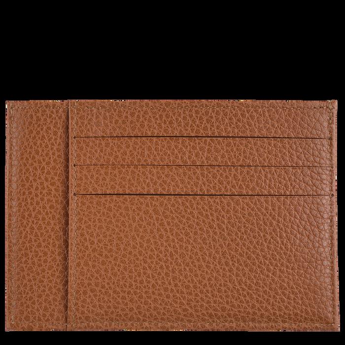 Porte-cartes Le Foulonné Caramel (L3121021F72) | Longchamp FR