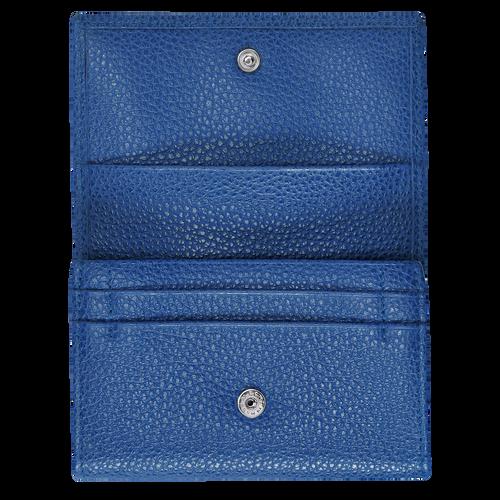 Coin purse Le Foulonné Sapphire (L3654021280) | Longchamp US