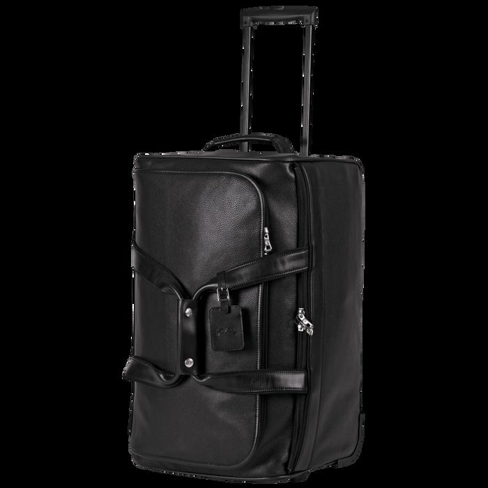 Reisetasche mit Rollen, Schwarz - Ansicht 2 von 3 - Zoom vergrößern