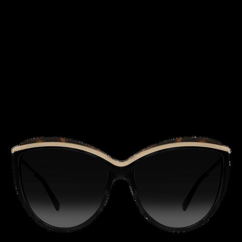 Sunglasses, Zwart geschubd - Weergave 1 van  2 -