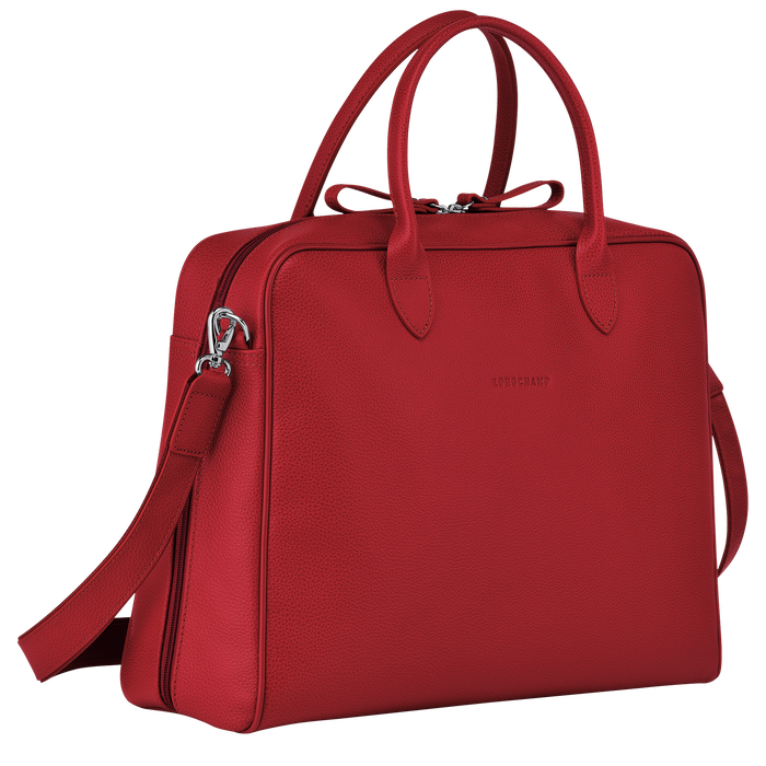 Briefcase M, Red, hi-res - View 2 of 3