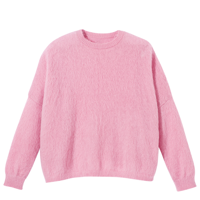 Collection Automne-Hiver 2021 Pull, Rose/Argent