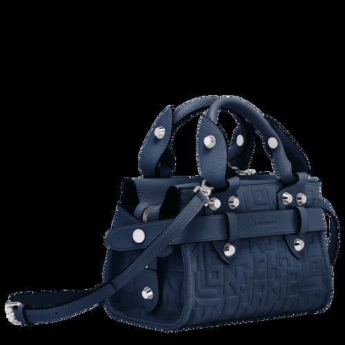 Top handle bag S, Navy, hi-res - View 2 of 3