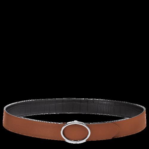 Women's belt, D71 Caramel/Black, hi-res