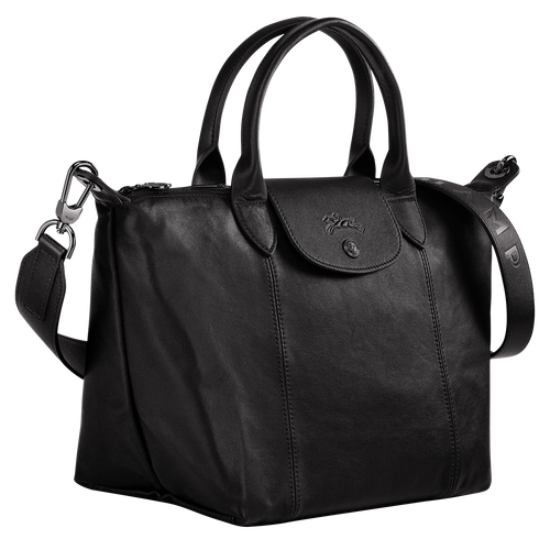 Top handle bag S, Black/Ebony - View 2 of  4 -