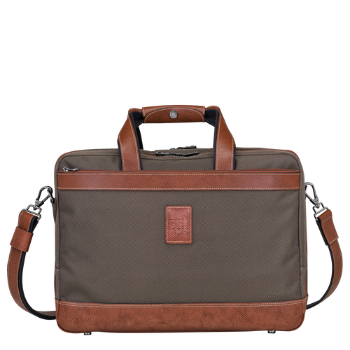 Briefcase L, Brown, hi-res - View 1 of 3