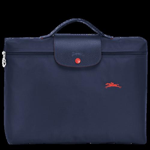 Briefcase, Navy, hi-res - View 1 of 4