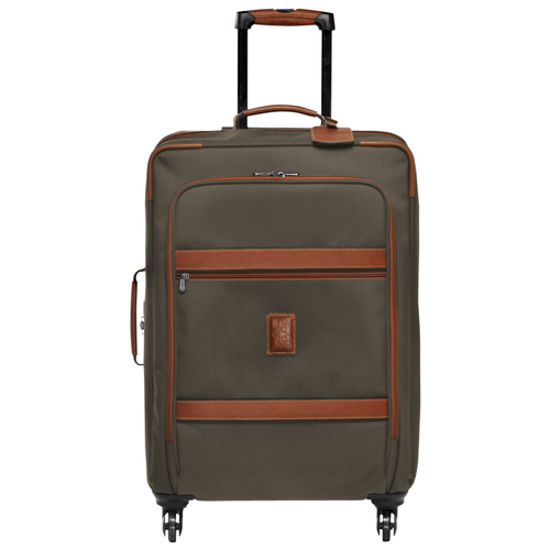 View 1 of Wheeled suitcase M, 042 Brown, hi-res