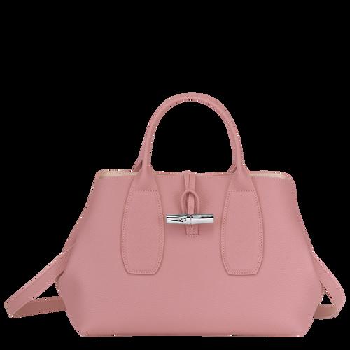 Tas met handgreep aan de bovenkant M, Antiek roze - Weergave 1 van  4 -